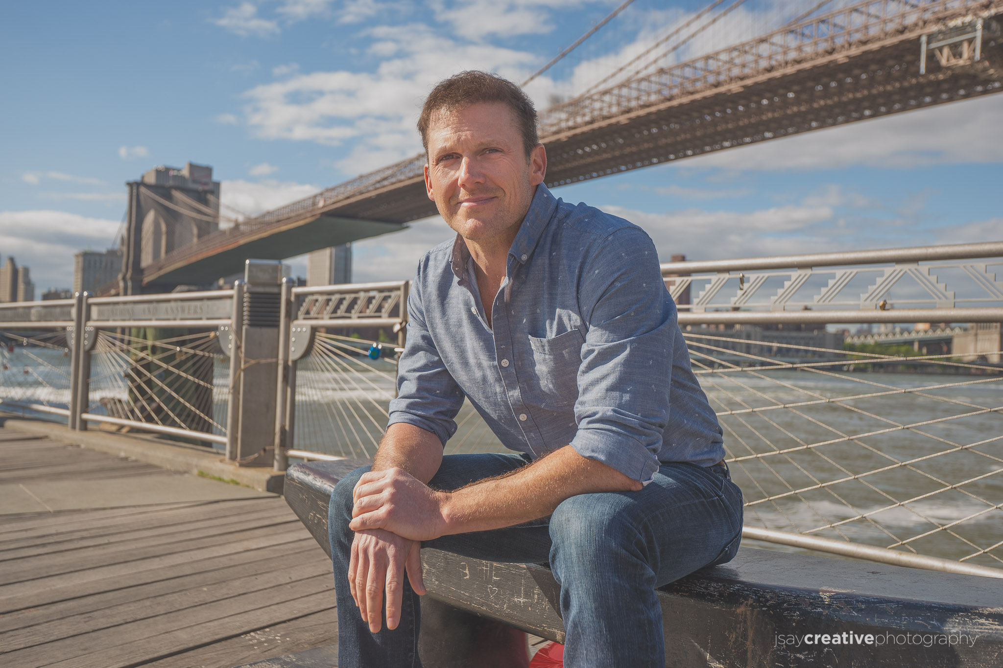 A Portrait Session with Greg, NYC TV Producer