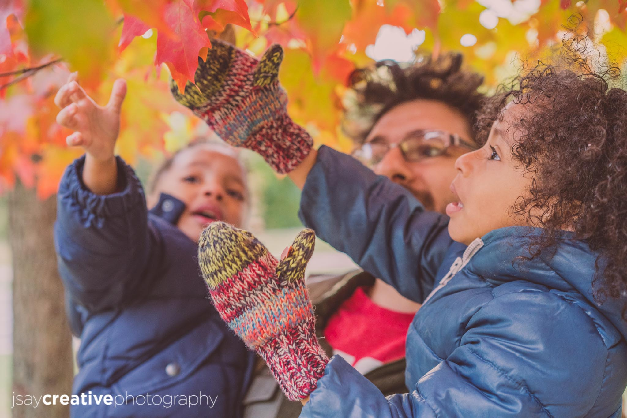 Autumn In Prospect Park Family Photo Session